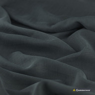 Gummerson - Astra Charcoal Sheer 320cm  | Curtain Sheer Fabric - Black, Charcoal, Wide-Width, Plain