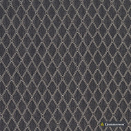 Gummerson - Hampstead Midnight Uncoated 280cm  | Curtain Fabric - Black, Charcoal, Diamond, Harlequin, Wide-Width, Geometric