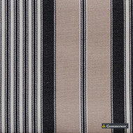 Gummerson - Multi Stripe Multi Uncoated 140cm  | Curtain & Upholstery fabric - Brown, Stripe, Uncoated, Fibre Blend, Standard Width