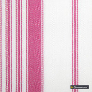 Gummerson - Multi Stripe Pink Uncoated 140cm    Curtain & Upholstery fabric - Pink, Purple, Stripe, Uncoated, Fibre Blend, Standard Width