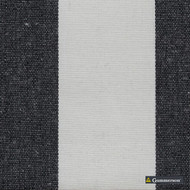 Gummerson - Avalon Stripe Black Uncoated 140cm  | Curtain & Upholstery fabric - Black, Charcoal, Stripe, Traditional, Uncoated, Fibre Blend
