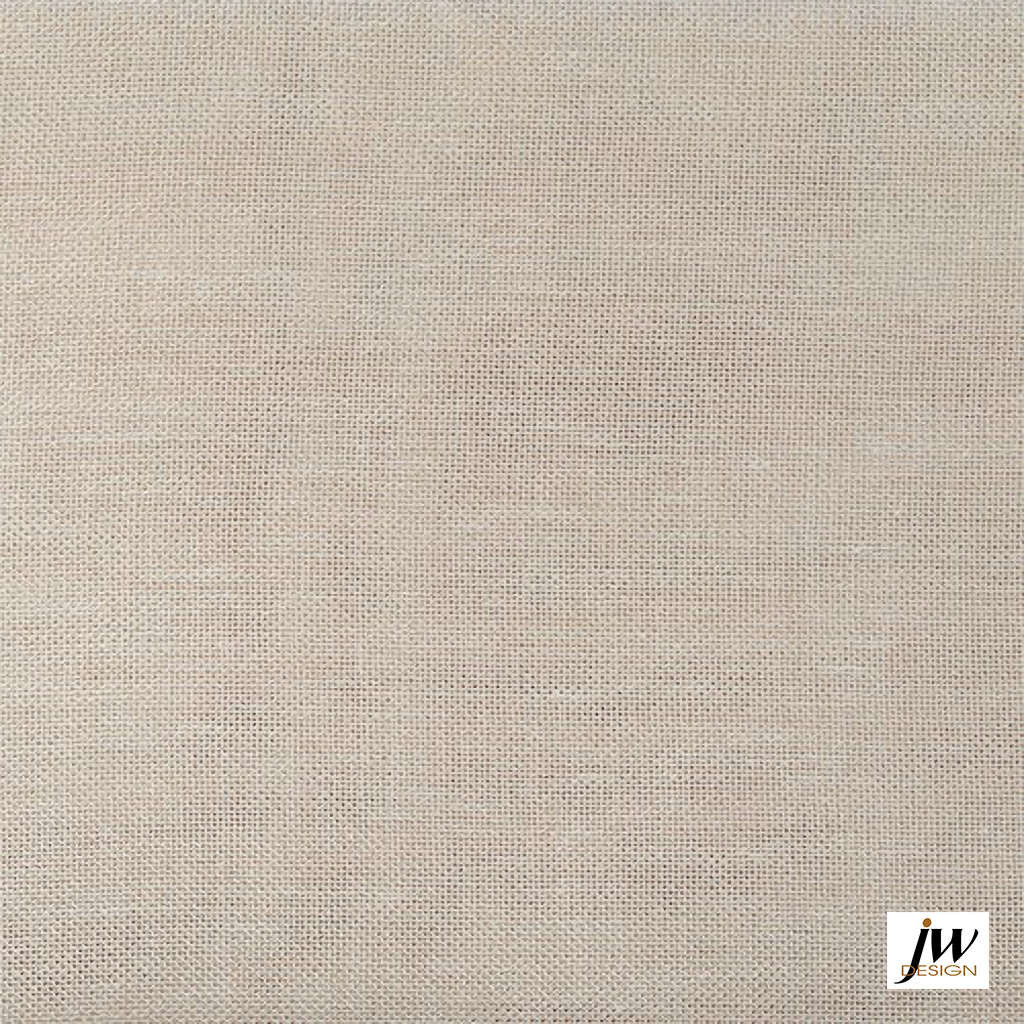 JW-Design - Corfu Natural Sheer 300cm  | Curtain & Curtain lining fabric - Beige, Uncoated, Wide-Width, Plain, Fibre Blend