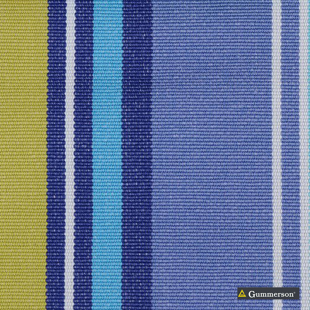 Gummerson - French Stripe Marine Uncoated 150cm    Curtain Fabric - Pink, Purple, Stripe, Uncoated, Fibre Blend, Standard Width