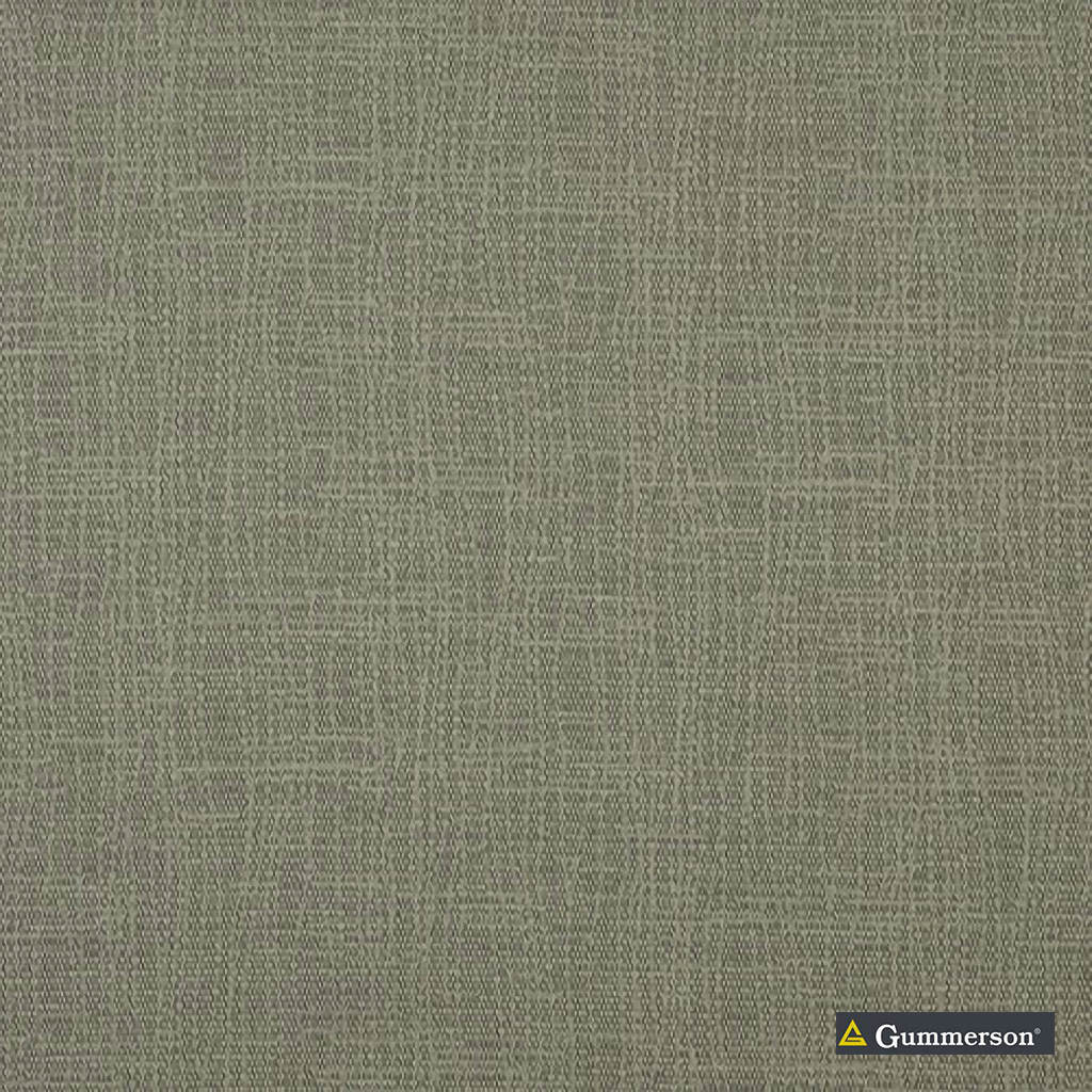 Gummerson - Torquay Timber Uncoated 137cm  | Curtain Fabric - Green, Plain, Fibre Blend, Standard Width