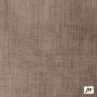 JW-Design - Corfu Timber Sheer 300cm  | Curtain & Curtain lining fabric - Brown, Uncoated, Wide-Width, Plain, Fibre Blend