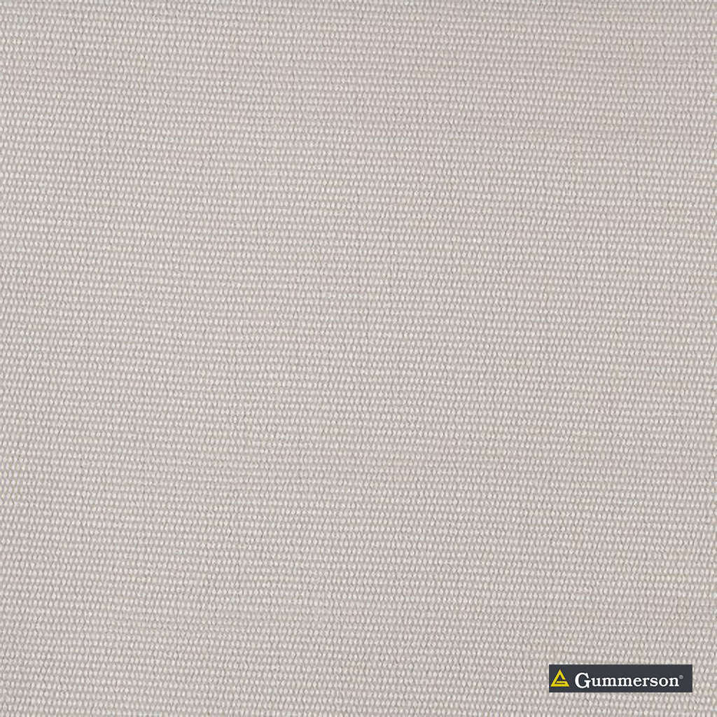 Gummerson - Plain Natural Uncoated 140cm  | Curtain Sheer Fabric - Grey, Tan, Taupe, Stripe, Wide-Width