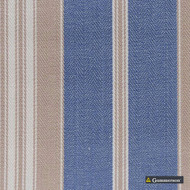 Gummerson - Multi Stripe Chambray Uncoated 140cm  | Curtain & Upholstery fabric - Black, Charcoal, Stripe, Whites, Herringbone, Standard Width