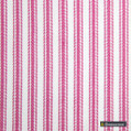 Gummerson - Ticking Stripe Pink Uncoated 140cm  | Curtain & Upholstery fabric - Brown, Stripe, Uncoated, Fibre Blend, Standard Width