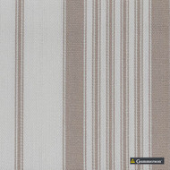 Gummerson - Multi Stripe Linen Uncoated 140cm  | Curtain & Upholstery fabric - Brown, Abstract, Standard Width