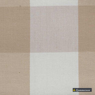 Gummerson - Beach Check Taupe Uncoated 140cm    Curtain & Upholstery fabric - Contemporary, Traditional, Gingham, Standard Width
