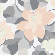 Scion Diva 110862  | Wallpaper, Wallcovering - Fire Retardant, Grey, Pink, Purple, Floral, Garden, Botantical, Eclectic