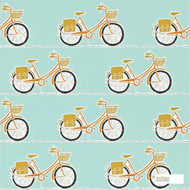 Scion Cykel 111100  | Wallpaper, Wallcovering - Kids, Children, Midcentury, Domestic Use, Figurative, Print, Circles