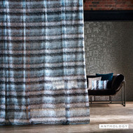 Anthology Kiyoshi - 131816  | Curtain Fabric - Blue, Ombre, Railroaded