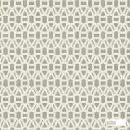 Scion Lace 110231  | Wallpaper, Wallcovering - Fire Retardant, Grey, Asian, Geometric, Chinoiserie, Chinoise, Circlelink, Circles, Lattice, Trellis