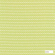 Scion Lace 120090  | Curtain & Upholstery fabric - Green, Asian, Geometric, Chinoiserie, Chinoise, Circlelink, Circles, Lattice, Trellis, Natural