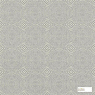 Scion Kateri 131241  | Curtain & Upholstery fabric - Grey, Fibre Blends, Geometric, Transitional, Domestic Use, Standard Width, Circles