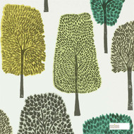 Scion Cedar 111083  | Wallpaper, Wallcovering - Fire Retardant, Green, Floral, Garden, Botantical, Woodland