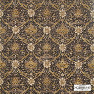 Morris & Co Montreal - 226419  | Curtain & Upholstery fabric - Brown, Cushion, Art Nouveau, Craftsman, Standard Width