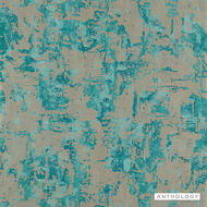 Anthology Anthropic - 112042  | Wallpaper, Wallcovering - Blue, Contemporary, Splatter Paint
