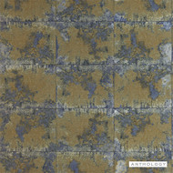 Anthology Oxidise - 111160  | Wallpaper, Wallcovering - Gold, Yellow, Tile