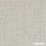 Anthology Cubic - 111146  | Wallpaper, Wallcovering - Beige, Check, Tile, Pattern, Small Scale