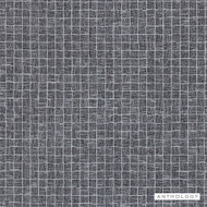 Anthology Cubic - 111148  | Wallpaper, Wallcovering - Black, Charcoal, Check, Tile, Pattern, Small Scale