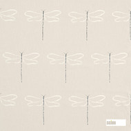 Scion Dragonfly - 120760  | Curtain & Upholstery fabric - Beige, Cushion, Animals, Fauna, Natural, Natural Fibre, Standard Width