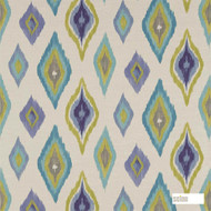 Scion Amala 120302  | Curtain Fabric - Geometric, Ikat, Kilim, Mediterranean, Natural Fibre, Domestic Use, Natural, Standard Width