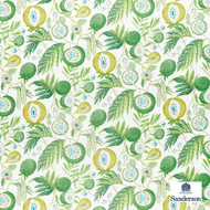 Sanderson Jackfruit - 226559  | Curtain & Upholstery fabric - Green, Floral, Garden, Botantical, Cushion, Natural, Tropical, Natural Fibre