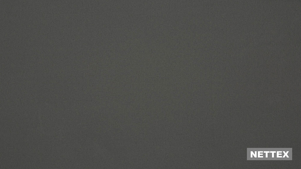 Nettex Epic 878B - Thunder 300  | Curtain Fabric - Fire Retardant, Black, Charcoal, Wide-Width, Blockout, Blackout, Plain