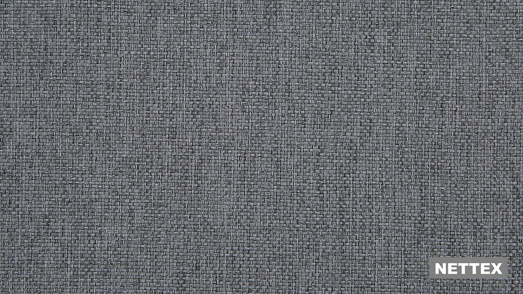 Nettex Tulsa AN101 - Pewter 150  | Curtain Fabric - Fire Retardant, Linen/Linen Look, Grey, Plain, Strie, Standard Width, Strie