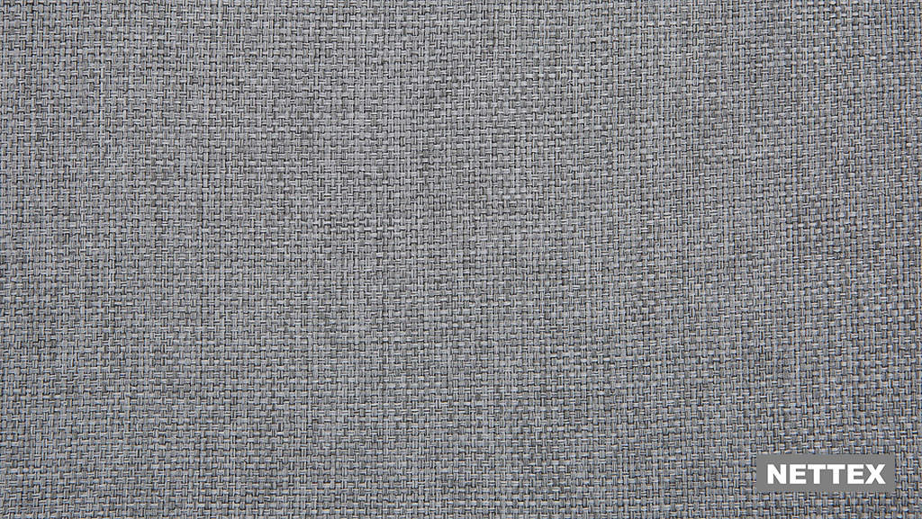 Nettex Tulsa AN101 - Stone 150  | Curtain Fabric - Fire Retardant, Linen/Linen Look, Grey, Plain, Strie, Standard Width, Strie