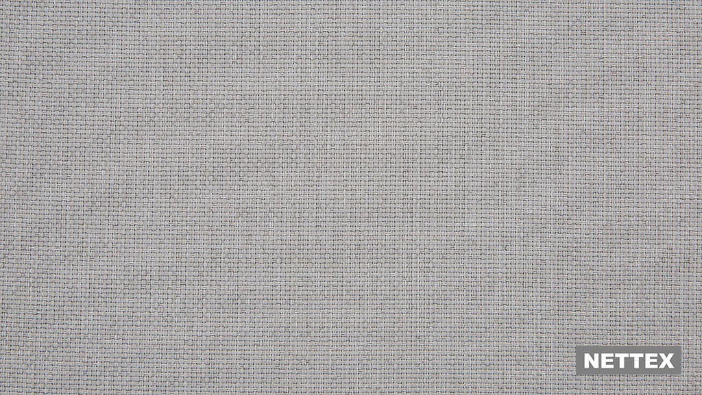 Nettex Tulsa AN101 - Mushroom 150  | Curtain Fabric - Fire Retardant, Linen/Linen Look, Grey, Plain, Strie, Standard Width, Strie