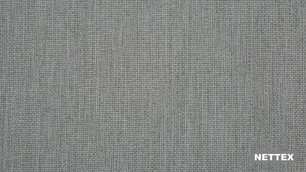 Nettex Tulsa AN101 - Ash 150  | Curtain Fabric - Fire Retardant, Linen/Linen Look, Grey, Plain, Strie, Standard Width, Strie