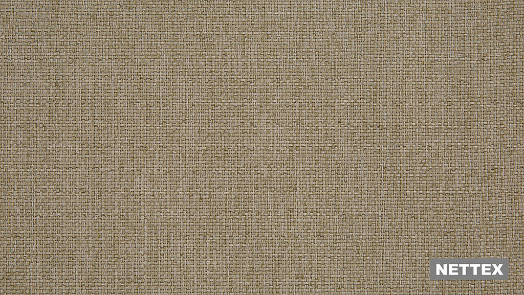 Nettex Tulsa AN101 - Bark 300  | Curtain Fabric - Fire Retardant, Linen/Linen Look, Beige, Wide-Width, Plain, Strie, Strie