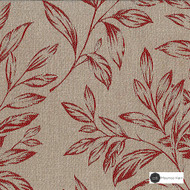 Maurice Kain Baroda 137cm - Autumn  | Curtain Fabric - Brown, Floral, Garden, Botantical, Uncoated, Pattern, Fibre Blend, Standard Width