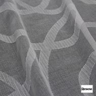 Resene Connection 300cm - Blonde  | Curtain Sheer Fabric - Black, Charcoal, Contemporary, Wide-Width, Geometric