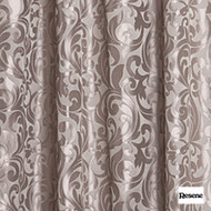 Resene Designite 140cm - Stone  | Curtain Fabric - Brown, Contemporary, Floral, Garden, Botantical, Uncoated, Art Nouveau, Pattern, Fibre Blend