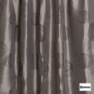 Resene Diva 141cm - Charcoal  | Curtain Fabric - Black, Charcoal, Contemporary, Floral, Garden, Botantical, Uncoated, Pattern, Standard Width