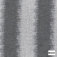 Resene Echelon 137cm - Ebony  | Curtain Fabric - Black, Charcoal, Contemporary, Stripe, Uncoated, Fibre Blend, Standard Width