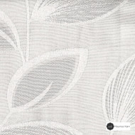 Maurice Kain Evergreen Unc 138cm - Lily  | Curtain Fabric - Floral, Garden, Botantical, Uncoated, Whites, Pattern, Fibre Blend, Standard Width