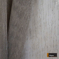 Filigree Faraday 300cm - Clay  | Curtain Sheer Fabric - Fire Retardant, Brown, Wide-Width, Plain