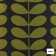 Sekers Giant Stem 140cm - Moss  | Curtain Fabric - Green, Floral, Garden, Botantical, Uncoated, Natural, Pattern, Natural Fibre, Standard Width