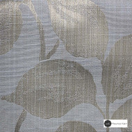 Maurice Kain Innsbruck 137cm - Breeze  | Curtain Fabric - Grey, Floral, Garden, Botantical, Blockout, Blackout, Pattern, Fibre Blend, Standard Width