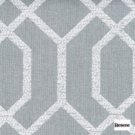 Resene Intersection 138cm - Hydra  | Curtain Fabric - Grey, Uncoated, Geometric, Standard Width