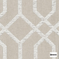 Resene Intersection 138cm - Naturalle  | Curtain Fabric - Beige, Uncoated, Geometric, Standard Width