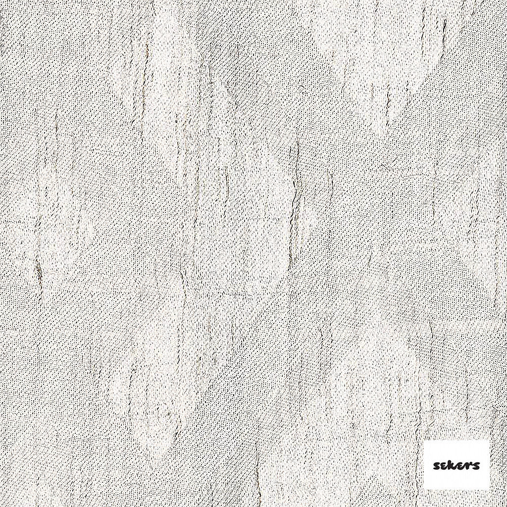 Sekers Intrigue 295cm - Nougat    Curtain Fabric - Diamond, Harlequin, Uncoated, Wide-Width, Geometric, Whites
