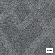 Sekers Intrigue 295cm - Steel  | Curtain Fabric - Grey, Diamond, Harlequin, Uncoated, Wide-Width, Geometric