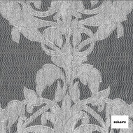 Sekers Isola 290cm - Pearl  | Curtain Sheer Fabric - Grey, Wide-Width, Damask, Pattern
