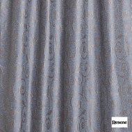 Resene Lyrical 137cm - Hydra  | Curtain Fabric - Grey, Floral, Garden, Botantical, Uncoated, Scroll, Pattern, Standard Width